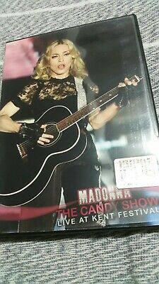 Madonna rare dvd hard candy london madame x erotica sex like promo tour