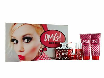 omg red hot perfume set for ladies in
