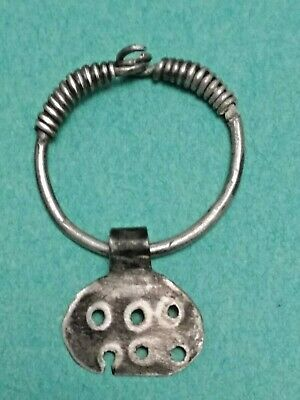 Rare !!! Ancient silver pendant . Vikings. Celts 6-1  BC
