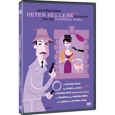 Peter Sellers Collection - I Film Della PANTERA ROSA (5 Dvd)