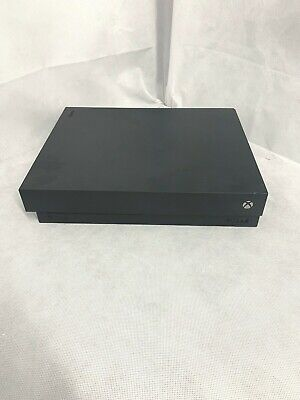 Microsoft Xbox One X 1TB Console - Black *Read* *No Power*