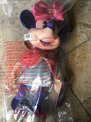 Disney Minnie Mouse Plush Main Attraction *Mad Tea Party* **NWT**