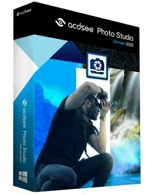 ACDSee Photo Studio Ultimate 2020 Lifetime Activated FULL Version Fast Delivery