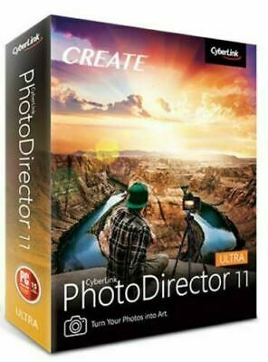 ✅ CyberLink PhotoDirector Ultra 11 Lifetime Activated FULL Version Fast Delivery