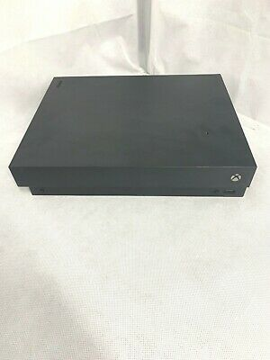 Microsoft Xbox One X 1TB Console Only - Black *Read Description*