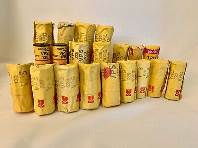20 Rolls Various Kodak Professional 120/220 film exp mixed lot many varieties!