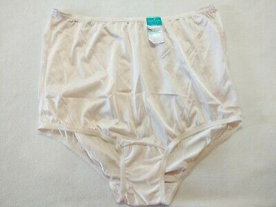"Msrp 10.00 Vanity Fair ""Perfectly Yours"" Ravissant Tailored Briefs - Size Xl/8"
