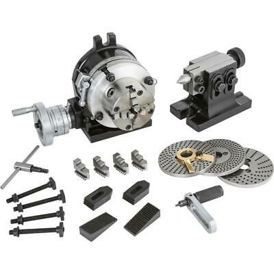 """Grizzly T25937 5"""" Rotary Table"""