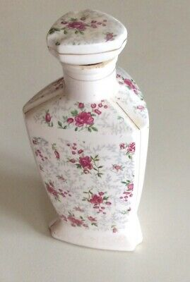 Vintage / Collectable China Container With Lid ? For Dressing Table Or Bathroom
