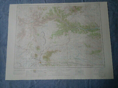 US Geological Survey Topography Map1954-Quadrangle Lewistown, Montana