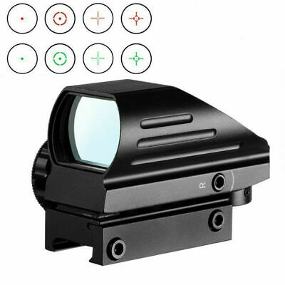 Tactical Holographic Reflex Red Green Laser Dot Sight Scope 11mm/20mm Rail Mount
