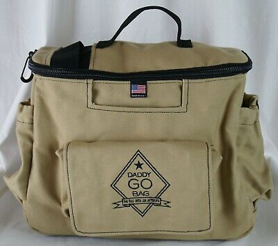 Daddy GO Bag Diaper, Tactical Adventure Bag for Dad Bag With an Afterlife NWOT