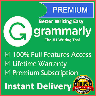 Grammarly Premium Lifetime Account |Best Offer|100% Guaranteed