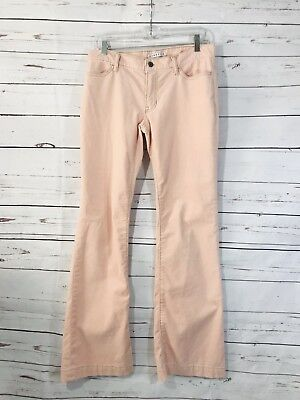 Gap Womens Corduroy Pants Size 4 x 32 Pink Color Stretch Warm Bootcut Soft