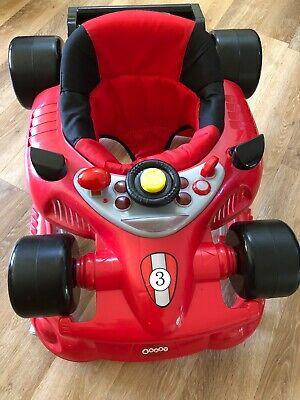 baby walker by 4 baby car with music and sounds . Excellent condition