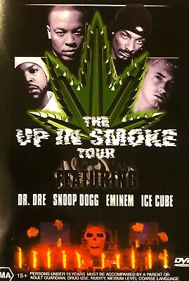 JJ7NEW-Dr Dre/Snoop Dogg/Eminem/Ice Cube: The Up in Smoke Tour R4 Australia Dvd