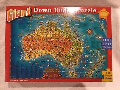 Blue Opal Kids Edition Giant Down Under Jigsaw Puzzle 300 Pieces