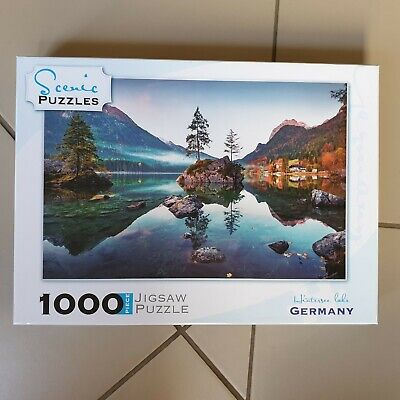 1000 Piece Jigsaw Puzzle - Hintersee Lake, Germany by Scenic Puzzles