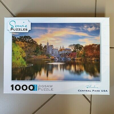 1000 Piece Jigsaw Puzzle - Belvedere Central Park, USA by Scenic Puzzles