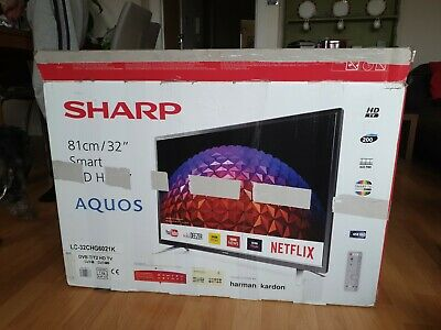 "Sharp 32"" Smart LED TV HD Ready with Freeview HD - (LC-32CHG6021K)"