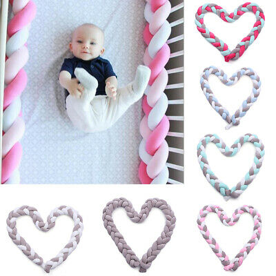 baby nests Head guard Knot cushion Bed hose Color Baby cot IO