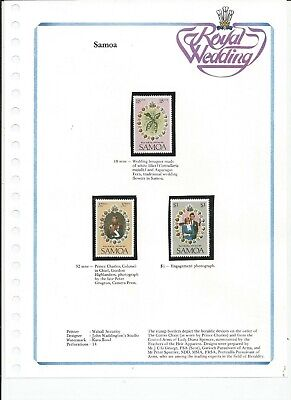BRITISH COMMONWEALTH MINT STAMP ALBUM COLLECTION - Royal Wedding issues