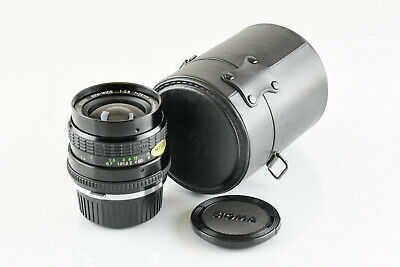 Olympus Mount Sigma 28mm f2.8 Wide Angle Lens