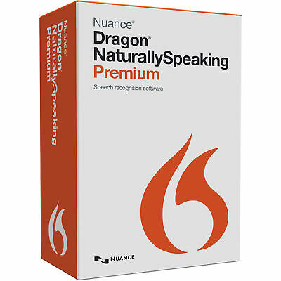 Nuance Dragon Naturally Speaking Premium v13.0. English Download Link + Key- Win