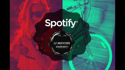 Spotify Premium-12 Months-Private-Fast Delivery-Warranty