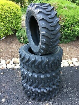 4 NEW Camso sks332 10-16.5 Skid Steer Tires For Bobcat, CAT,John Deere - 10 PLY