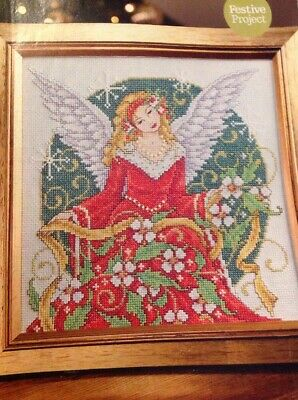JOAN ELLIOTT COUPLES AND LOVEY-DOVEY MESSAGES CHRISTMAS CARDS CROSS STITCH CHART