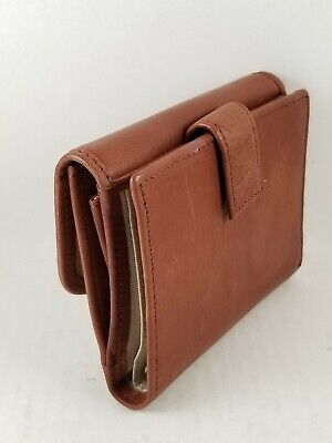 American Leather Co Trifold Genuine Leather Wallet Organizer..New