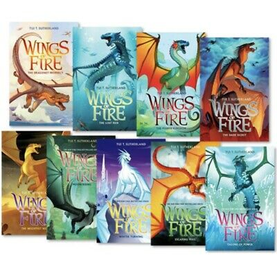 Wings of Fire 1-12 Books Set By Tui T. Sutherland