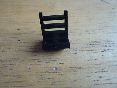 Vintage Lego Black 1x2 Plate With Ladder Grille Part Lot Town Space Part 4175