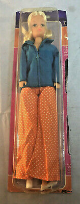 """Shillman Doll  11.5"""" on partial card - 1983 Barbie Clone Kmart Collection"""