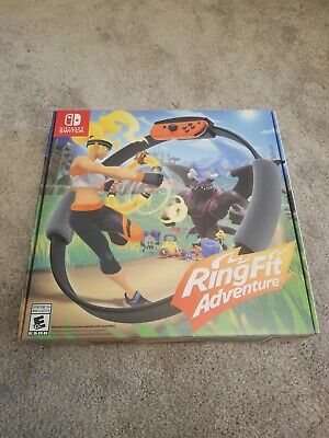 Ring Fit Adventure -- Standard Edition (Nintendo Switch, 2019) Factory Sealed!