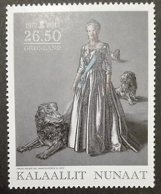 GREENLAND STAMPS MNH - Ann. of the Coronation of Queen Margrethe II, 2012, **