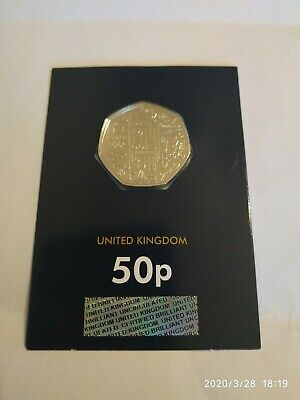 2020 Team GB Tokyo in Coin Olympic 50p FIFTY PENCE Brilliant Uncirculated Coin