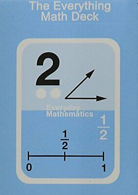 Everything Math Deck of Cards, McGraw Hill Wright Group, New Mint Sealed Package