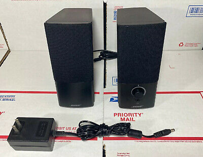 *EXCELLENT -Bose Companion 2 Series III Multimedia Computer Speakers -WARRANTY