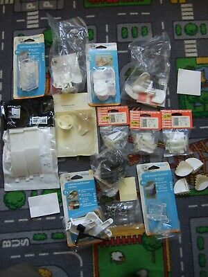 Large quantity of child home safety equipment, baby proof your house.