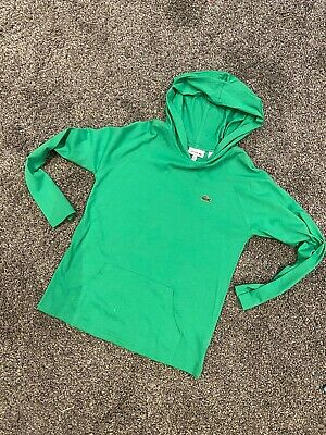 Lacoste Hooded Top Age 8 Years, Worn Once To Try On X