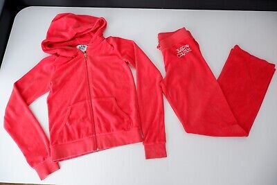 juicy couture tracksuits Girls Velour Size Xl Age 14 Years