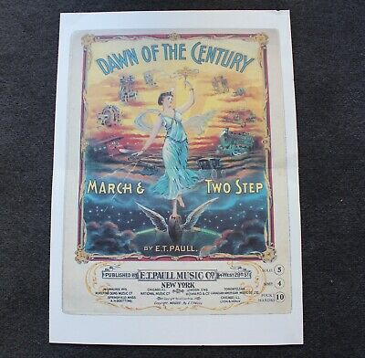 Dawn of the Century March & Two Step Poster Print