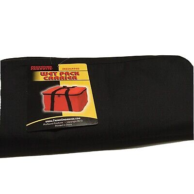 Profound Products Insulated Cooler Wet Pack Carrier Black New