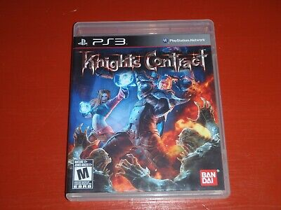Knights Contract (Sony PlayStation 3, 2011 PS3) -Complete