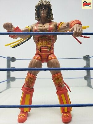 WWE Mattel Ultimate Warrior Defining Moments Elite Wrestling Figure Maniacs lsc