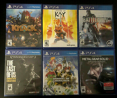 PlayStation 4 PS4 Games (Choose Your Own) *BRAND NEW & SEALED* NTSC-U/C English