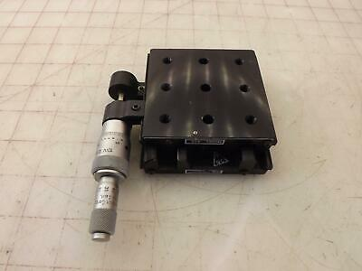 NRC Newport Research Corporation  420 X-Y stages Micro-Positioner w/ Micrometer