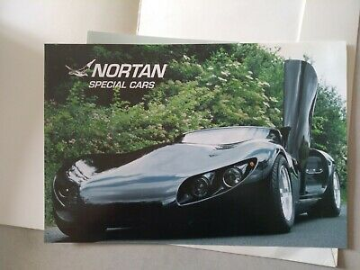 Depliant Brochure Nortan Special Cars Cool Down In Inglese Tedesco